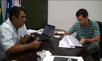TV UCMMAT - Presidente da Câmara Municipal de Rosário Oeste assina convênio com a UCMMAT