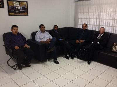 TV UCMMAT - Presidente da UCMMAT recebe visita de Pastores na sede da Entidade