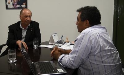TV UCMMAT - Deputado federal Roberto Dorner e prefeito de Claudia visitam UCMMAT