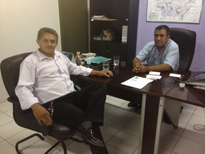 TV UCMMAT - Vice-presidente da Câmara de Santa Carmem visita UCMMAT