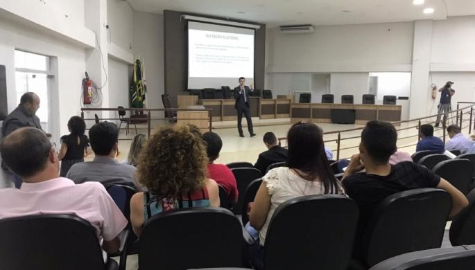 """2°ENCONTRO REGIONAL """"LEGISLAÇÃO ELEITORAL - ELEIÇÕES 2020"""""""