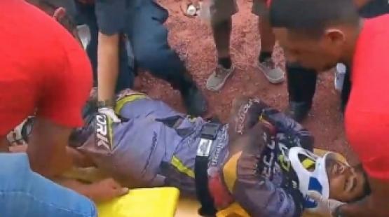Vereador Joaninha sofre acidente e tem fratura na costela e pulmão perfurado