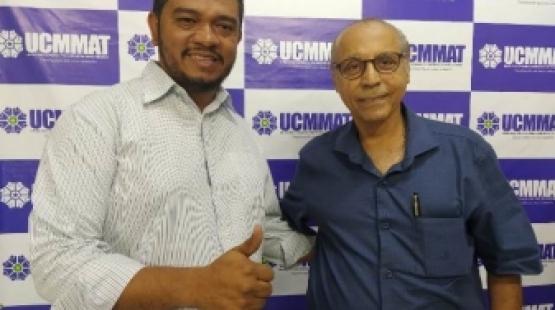 Edclay Coelho recebe visita do ex-governador Júlio Campos