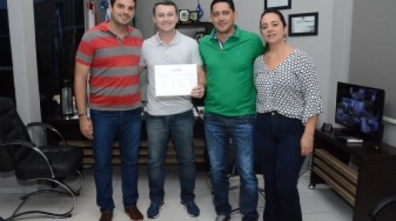 Sorriso: Vereadores recebem visita do deputado estadual Xuxu Dalmolin