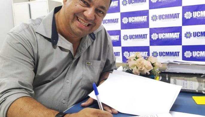 Presidente de Querência assina Termo de Filiação com a UCMMAT
