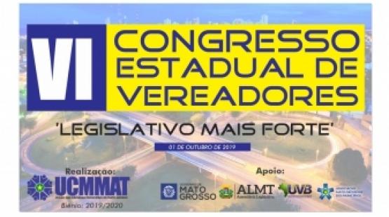 VI Congresso de Vereadores vai abordar inovações nas eleições de 2020