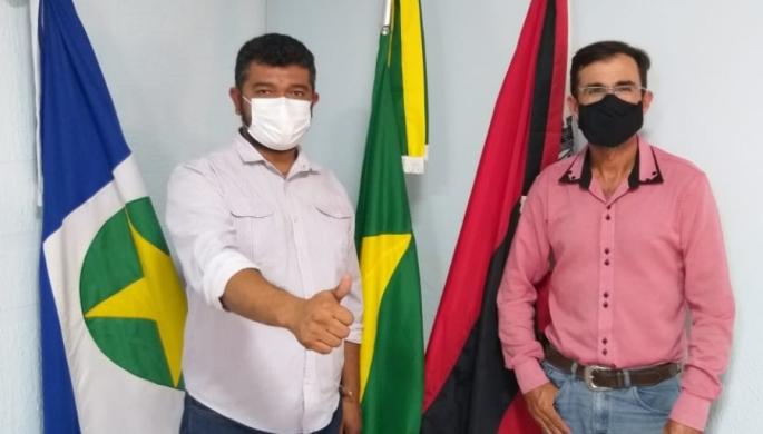 Presidente Edcley Coelho visita Câmara de Rio Branco