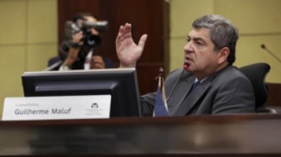 """TCE cita """"presunção da inocência"""" e nega pedido do MPE para destituir Maluf"""