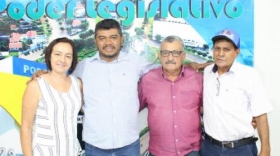 Câmara de Colíder recebe a visita do Presidente da UCMMAT