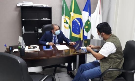 Vereadores cumprindo agenda em Cuiabá/MT