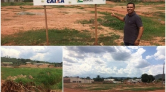 Presidente da Câmara de Pontal do Araguaia cobra término do asfalto no bairro Araguaia Center